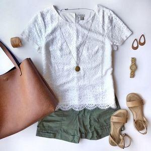 Calvin Klein Jeans army green Shorts 4